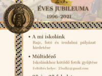 ISKOLÁNK 25 ÉVES JUBILEUMA