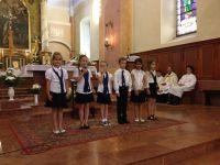 Te Deum a sárvári Szent László Katolikus Általános Iskolában
