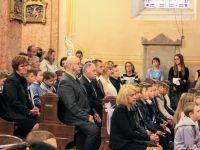 A sárvári Szent László Katolikus  Általános Iskola Veni Sancte ünnepélye