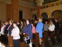 Az iskolai kápolna búcsúja